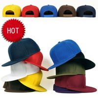 Wholesale Hot Selling Mixed Order Ball Hats Hip Hop Fashion Headwear adjustable size Snapbacks Plate pure color baseball Caps Good Prices