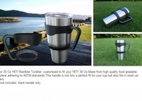 Wholesale Hot Sell High Quality Cups Handle or sealed lid for Oz YETI Rambler Tumbler by DHL