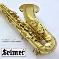 Wholesale DHL Selmer Tenor Saxophone drawing Copper Brass Nozzle Professional Sax b