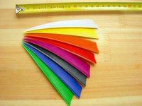 fletching - quot shield turkey feather colorful Arrow fletching vane archery bow outdoor