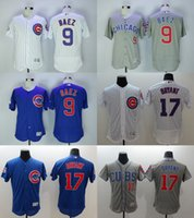 Wholesale 2016 Newest Men s Chicago Cubs Javier Baez Kris Bryant Flexbase Baseball Jerseys