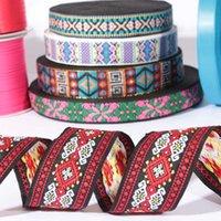 Wholesale Cheap Custon Jacquard logo printing nylon Strap with pantone color Webbing Eco Friendly ribbon