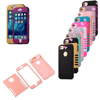 beetle fashion - ShockProof Armor Beetle Hybrid Hard PC Case For Iphone Iphone7 I7 G Fashion Plastic Soft TPU in1 Dual Layer Back Hole Skin Cover