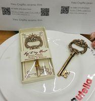 antique keys lot - wedding favor and Event Party giveaways for guest Antique Gold Key Bottle Opener