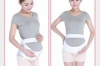 Wholesale Hot Selling Maternity Back Support Belt For Mother Abdomen Band Size S M L XL XXL Pregnant Belly Band Belt Black and White Colors