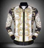 Wholesale 2016 new autumn winter men jacket fashion cardigan coat print jacket baseball men bomber jacket