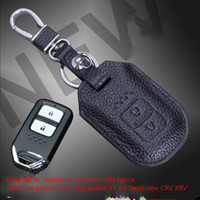accord business - Honda crv leather manufacturers do set Wallets Costa figure Ling sent Jed nine generation Accord Fit CRV XRV Ao Saide new leather car key ca