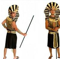 arab clothes men - Halloween Party Adualt men Astronaut Pilot Sailor Pharaoh Missionary priest Vampire Devil Firemen Egyptian Arab Costume Clothing Clothes