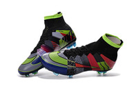 Wholesale 2016 Football Boots Superfly FG CR7 Soccer Shoes Men Soccer Cleats Laser Soccer Boots Fashionable Original Soccer Size Eur39