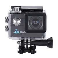 Wholesale 2 quot LCD Wifi Action Sports Camera Ultra HD MP K FPS P FPS X Zoom Degree Wide Lens D3976