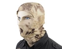 Wholesale Airsoft Hunting Camouflage Balaclava Outdoor Paintball Tactical Motorcycle Ski Face Mask Cycling Protection Full Face Mask
