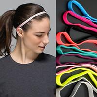 aerobics wear - Yoga movement slip headband headgear fine root fitness accessories headband training aerobics wear stretch lead