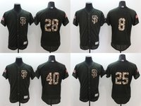 Wholesale 2016 Elite Men s San Francisco Giants Flexbase Buster Posey Madison Bumgarner Barry Bonds Baseball Jerseys Free Drop Shipping