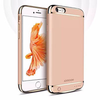 battery charger accessories - JOYROOM External Backup Battery Charger Case Power Case Phone Accessories For iphone S plus S plus