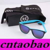 promotion sunglasses - Promotion Hot Sale black box black bag black cloth brand sunglasses package for Hawkers Style FREESHIP MOQ sets