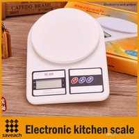 Wholesale 7kg g g Portable LCD Digital Electronic Kitchen Scale Food Parcel Weighing Balance With Retail box