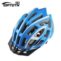Wholesale HOT TOPTOTN brand pro bicycle cycling helmet Ultralight and Integrally molded air vents bike helmet Dual use MTB or Road
