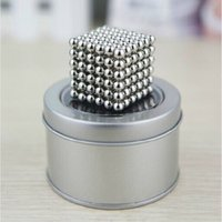 big buckyballs - 2016 Hot mm Magic Cubes Magnet Balls MM Buckyballs Cube Puzzle Magnetic Spacer Beads Education DIY Toys