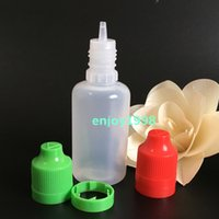 Wholesale LDPE E Liquid Bottle ml Empty Plastic Bottle Caps with Child Proof Tamper Lids and Dripper For Ecigarette Hot