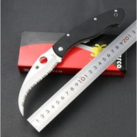 Wholesale The spider C12GS G10 handle civilian full tooth tooth claw knife folding knife tool outdoor bird