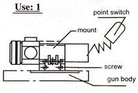 Wholesale Green dot laser sight GF014S2 nm mW gf014s2 Cheap gf014s2 Cheap gf014s2
