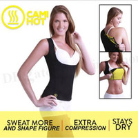 belly slimming exercises - Women Hot Cami Shapers Hot Shapers Shirts Weight Loss Cincher Slimming Belts Tummy Trimmer Stretch Yoga Exercise Vest Hot Chest Belly D150