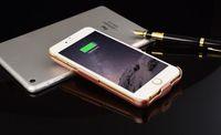 Wholesale 2016 Hot mAh Power Battery Case External Battery Backup Power Case Charger Cover Power Bank for iPhone plus s