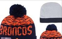 Prezzi Wool hat-2016 nuovo inverno cappelli di lana Broncos Berretti Green Bay Packers invernali cappelli di lana cappelli Beanie per uomo Berretti