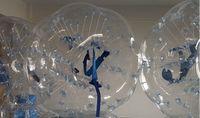 achat en gros de ballons de soccer zorb-0.8mm PVC 1.5m air pare-chocs corps Zorb Ball Bubble de football, Bubble Soccer Zorb Ball à vendre, Zorb ball