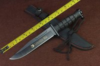 abs wood - New quot ABS handle C Blade Fixed Blade Survival Bowie Hunting Knife SA43