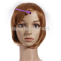 Wholesale Pro Salon Barber Metal Hairdressing Sectioning Hair Clips Grip Clamp tool clamps tube