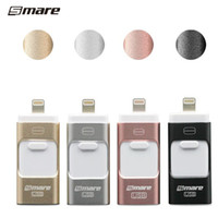 Wholesale Smare in1 GB GB GB GB USB OTG iFlash Drive USB Flash Drives for iPhone for iPad for iPod and Android Phone