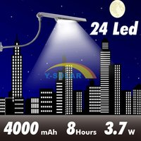 adjustable light sensor - Updated Super Bright LEDs Solar Powered Lamp Solar Street Light Waterproof Solar Lamp Sensor Security Light Adjustable Angle Gadern Light
