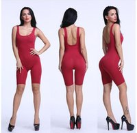 american apparel jumpsuit - 2016 Women Bodysuit Rompers Womens Jumpsuit Sleeveless Sexy Backless Length Colors Bodycon Jumpsuits American Apparel
