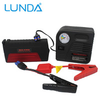 Wholesale LUNDA Super mAh Mini Car Jump Starter Auto Engine Emergency Start Battery Source Laptop Portable Charger Mobile Power Bank