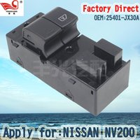 Wholesale Factory Direct Left and Front Master Electric Auto Power Main Window Switch Apply for NISSAN NV200 JX30A Master Electric Power