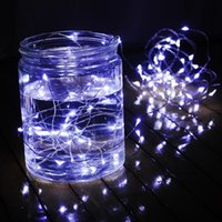 best aa batteries - best price AA Battery Operated Led String M LEDs Mini LED Copper Wire String Fairy strip Light Christmas Home Party Decoration Light