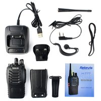 Wholesale A9104AK the white of RETEVIS RT628 New Red Walkie Talkie W UHF USA Frequency MHz CH Portable Two Way Radio