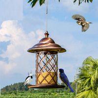 Wholesale European style wild bird feeder Outdoor bird feeders food container