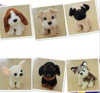 baby huskies - 8styles cm Husky Dog PlushToys Cute Sitting Dog Stuffed Doll plush Toy gift for kids baby Animal Carton Plush Toys Epacket