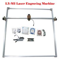 Wholesale Desktop DIY Violet LY M1 Laser Engraving Machine CNC Picture Printer CM MW MW MW MW