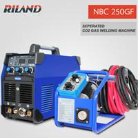 Wholesale Riland MIG Welding Machine V MIG250GF NBC250GF Dual Function MIG MMA Riland MIG Welder With Wire Feeder Welcome Whole Sales Partner