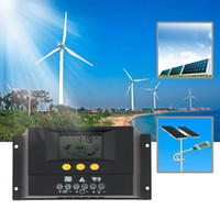 Wholesale 2016 New Style A Solar Regulator Solar Charge Controller V V LCD Solar Genetator new arrival