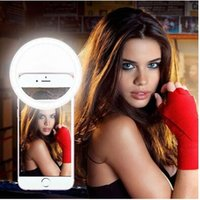 Wholesale Smartphone Universal LED Ring fill Selfie Light Night Darkness Selfie Enhancing Photography for Iphone