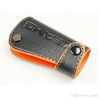 amg cover - For AMG REAL LEATHER KEY COVER W203 W211 W204 W205 W221 RED ORANGE For MERCEDES BENZ