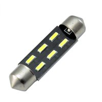 auto interior systems - High quality bright x mm C5W SMD Festoon Dome Auto interior LED lighting parts system pathway Side Wedge Luggage bulbs V