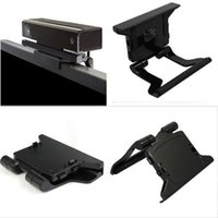Wholesale 1x New TV Clip Mounting Stand Holder for Microsoft Xbox Kinect Sensor Stand