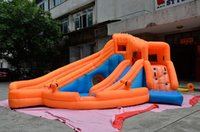 Wholesale Inflatable castle children naughty fort trampoline slide of indoor and outdoor large toy amusement park