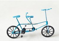 bicycle tire offers - L D zxc001 Special offer Features handmade crafts Couple Double tire bicycle Exquisite gift Decoration Fashion Toy