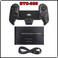 BTC-938 Telescopic Game Controller inalámbrico Bluetooth Gamepad joystick para Samsung iPhone Android 5-10inch Tablet PC